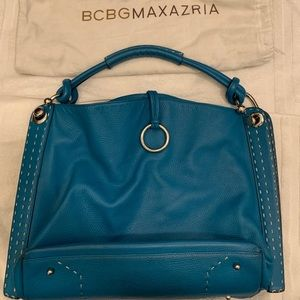 BCBG Max Azria Signature Hobo Tote Bag